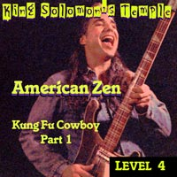 Kung Fu Cowboy PART 1 cd COVER